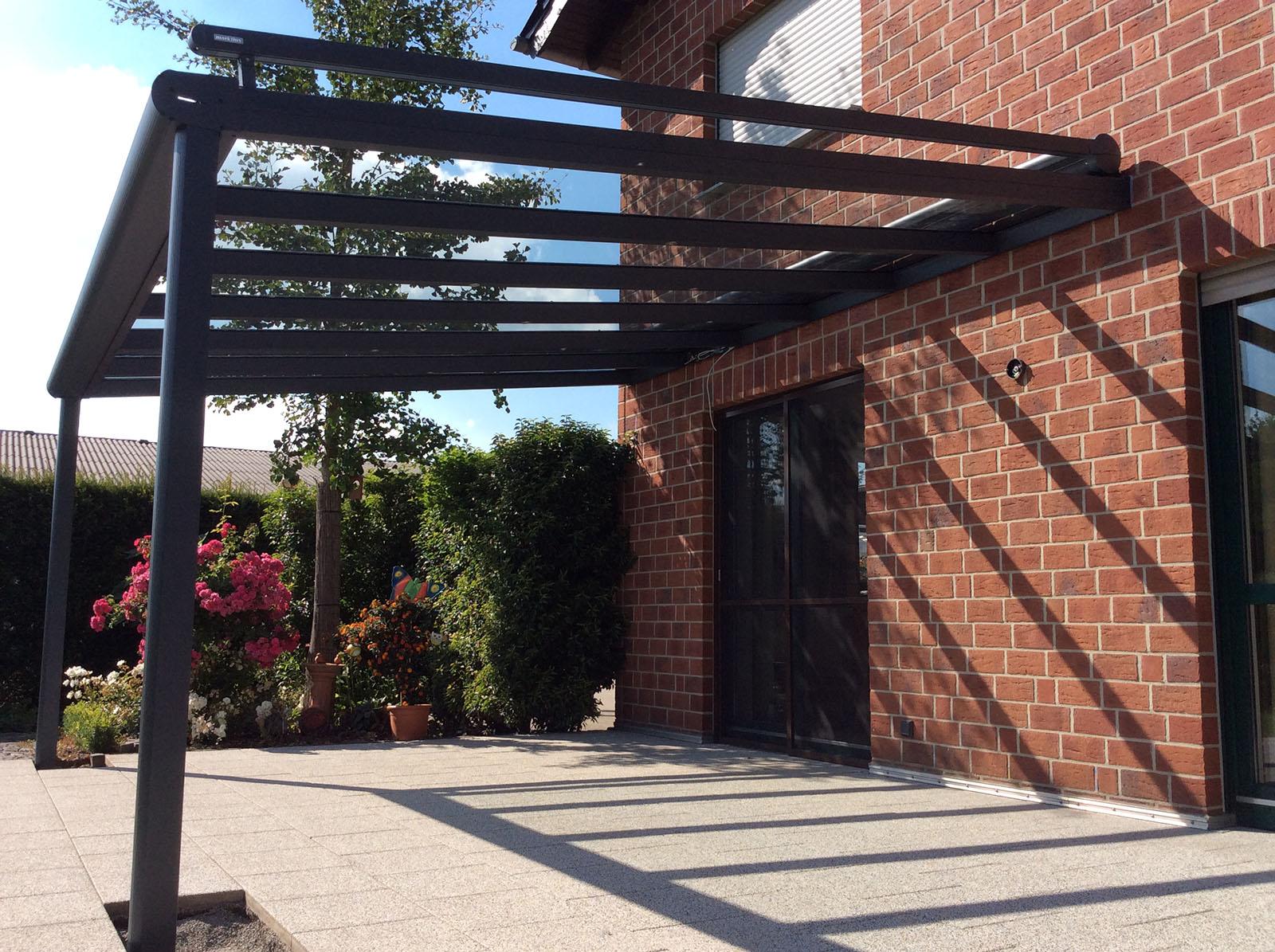 terrassenüberdachung alu 10mm sicherheitsglas vsg glas klar 10m, Hause deko