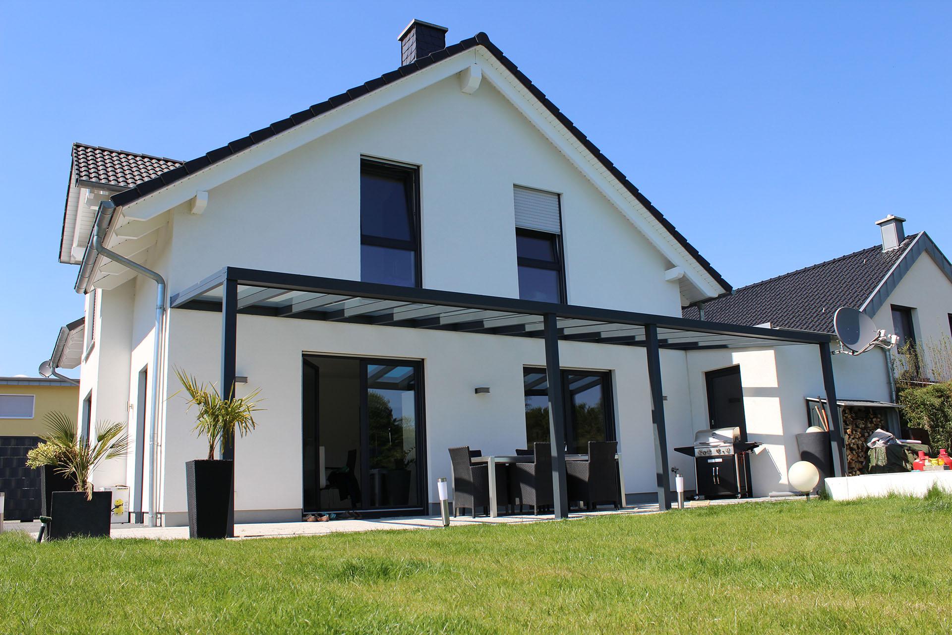terrassenüberdachung alu 10mm sicherheitsglas vsg glas klar 5m, Hause deko